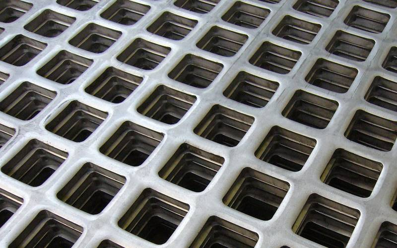 Vierkante gaten